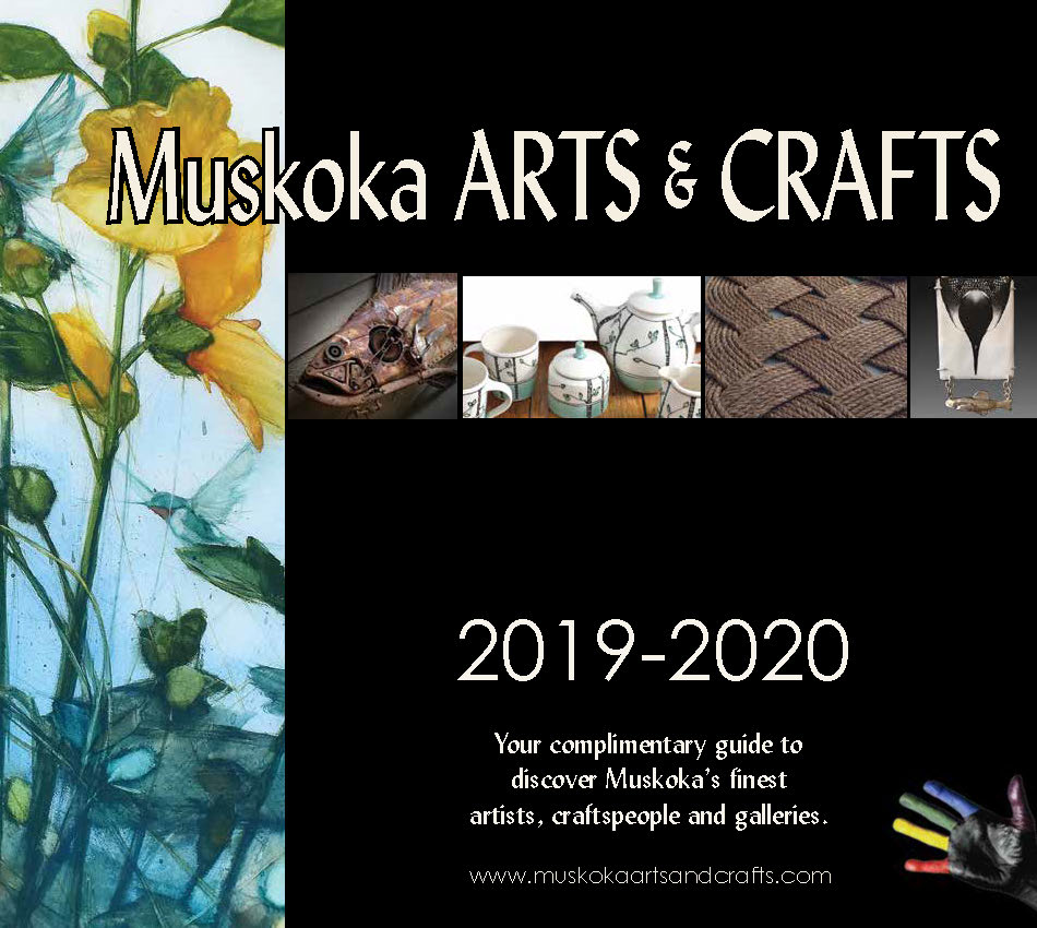 2019 Muskoka Arts & Crafts' Guidebook Cover