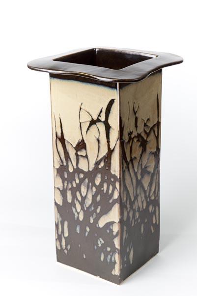 Orchid Vase, Lynda Hrynyk, pottery