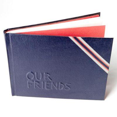 Hardbound Leather Guest Book