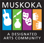 Muskoka Designated Arts Community Logo